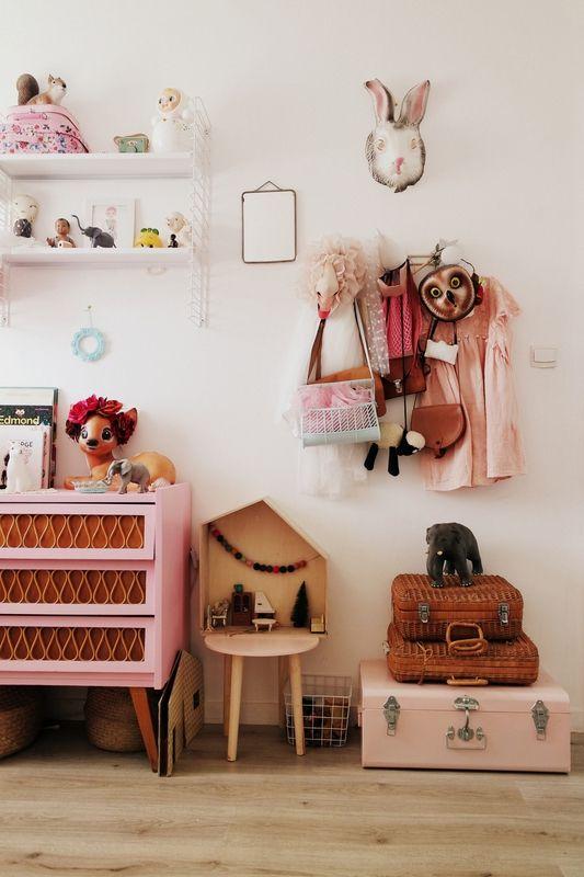 5 Chambres Rose de Caractère pour Petites Filles